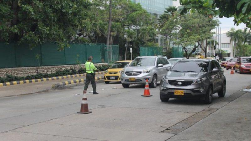 Policía desplegó 350 uniformados en entradas y salidas de Barranquilla, durante este fin de año