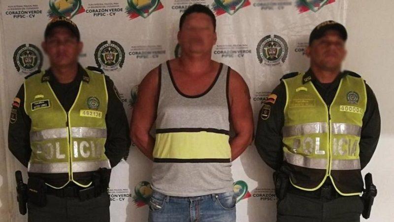 Policía lo captura cuando golpeaba a su cuñado en Ponedera