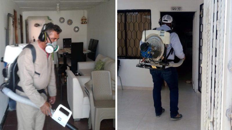 Realizan jornadas de fumigación contra el dengue, en Malambo
