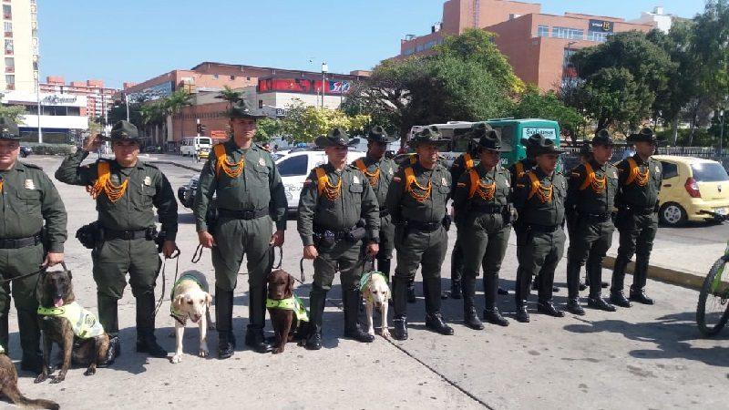 Refuerzan seguridad en Barranquilla tras conocerse el atentado en Bogotá