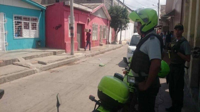 Sicario de a pie mata a un hombre en el barrio San Roque
