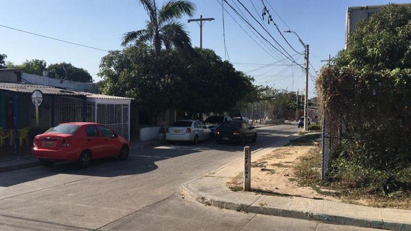 Una persona herida deja balacera entre policías y ladrón en el barrio La Paz