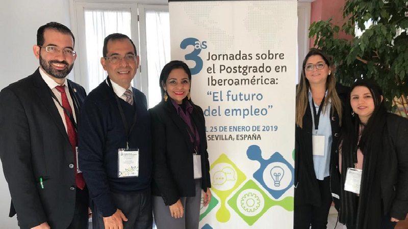 Unisimón, presente en Jornadas sobre el Posgrado en Iberoamérica en Sevilla, España