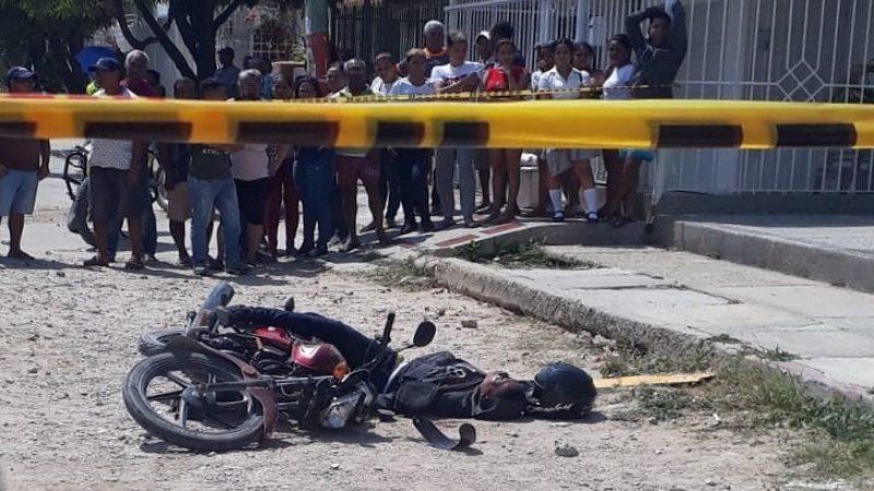 Abatido presunto ladrón en medio de un atraco en el barrio Los Almendros
