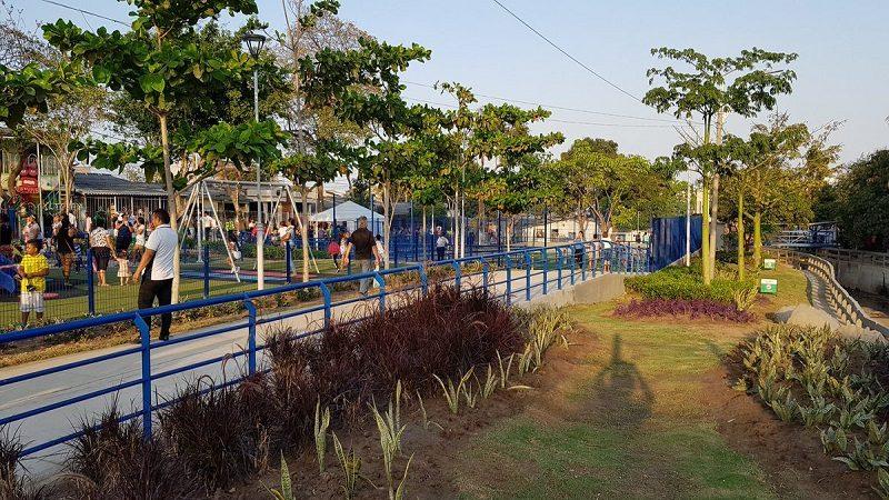 Alcalde Char entregó segunda fase del parque Salcedo, en Ciudadela 20 de Julio