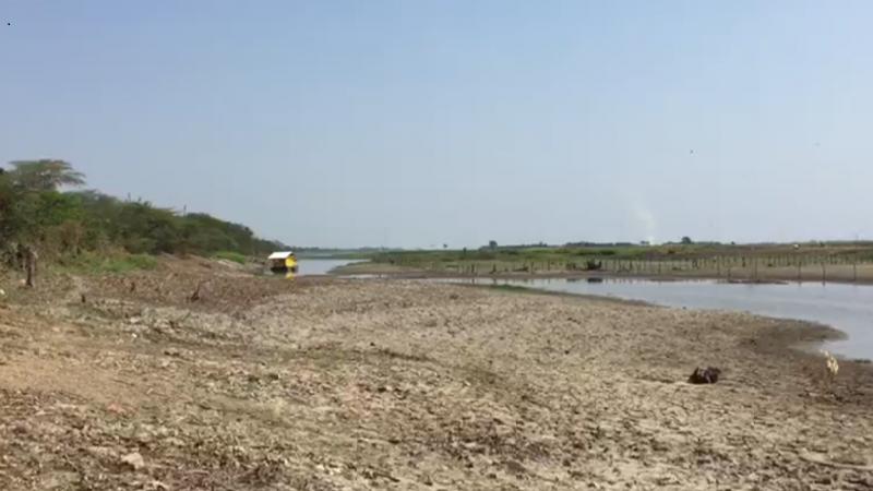 CRA emite alerta por efectos de sequía en cuerpos de agua del Atlántico