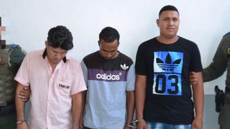 Capturan a tres atracadores que huían en taxi por el barrio Rebolo