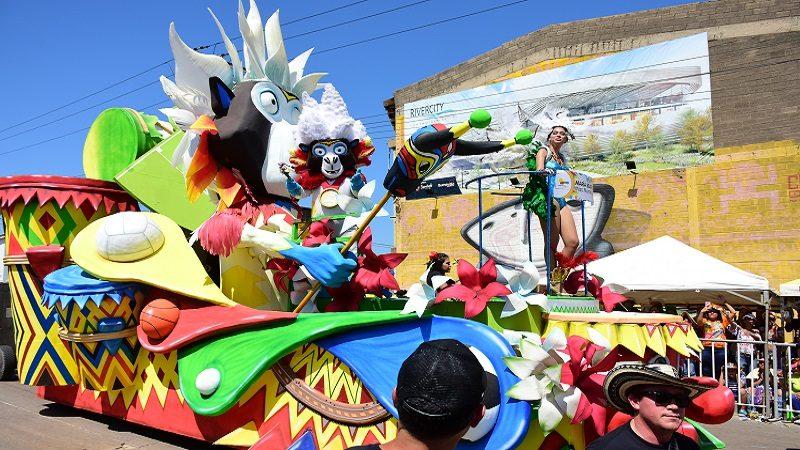 Carrozas Del Carnaval De Barranquilla Son Referentes