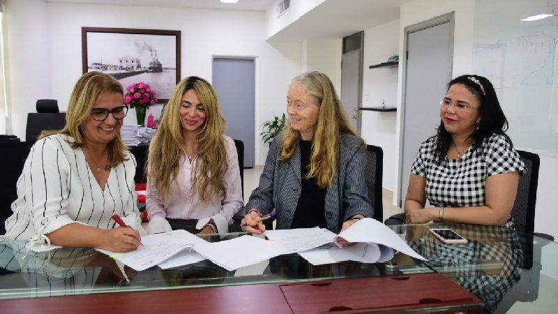 Distrito firma convenio con Programa Mundial de Alimentos para favorecer a estudiantes venezolanos de colegios oficiales