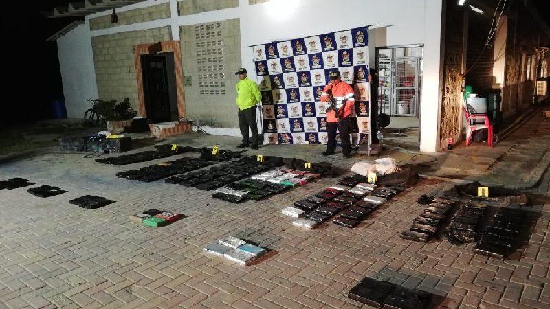 Encuentran 155 kilos de cocaína en una casa del barrio Bendición de Dios