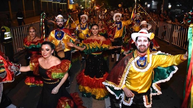 Este sábado 9 de febrero, cierre de vías en Barranquilla, por desfile del Garabato del Country