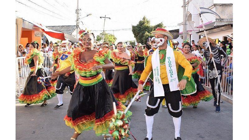Galapa se engalana con la Gran Parada Departamental del Folclor y la Coronación de la Reina del Carnaval del Atlántico, este domingo 24 de febrero