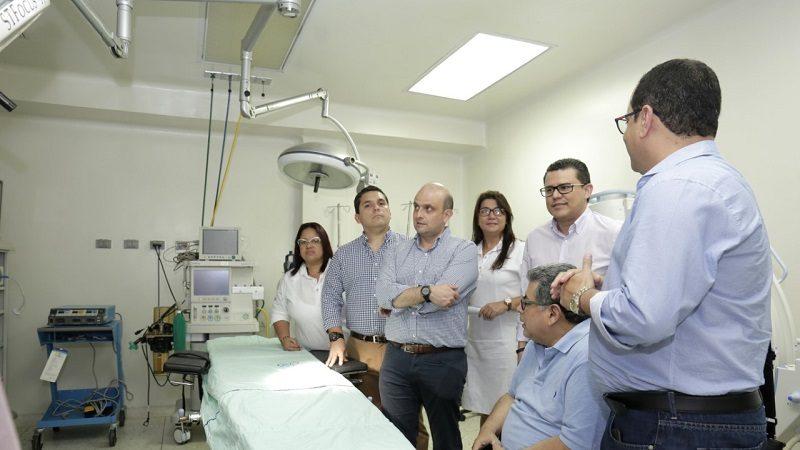 Gobierno nacional está comprometido en el fortalecimiento del hospital Cari