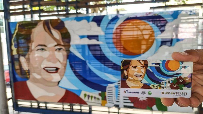 'La Novia de Barranquilla' es la nueva imagen de la tarjeta de Transmetro