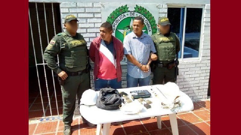 Los capturan cuando robaban una antena de Tigo en Playa Mendoza