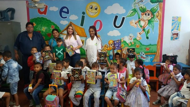 Niños del municipio de Malambo reciben ayudas escolares