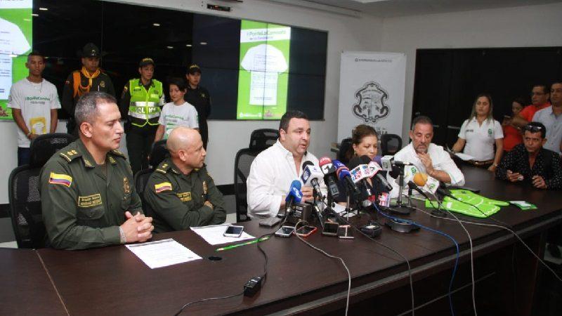 Para reforzar seguridad en carnaval llegan 1.500 Policías a Barranquilla