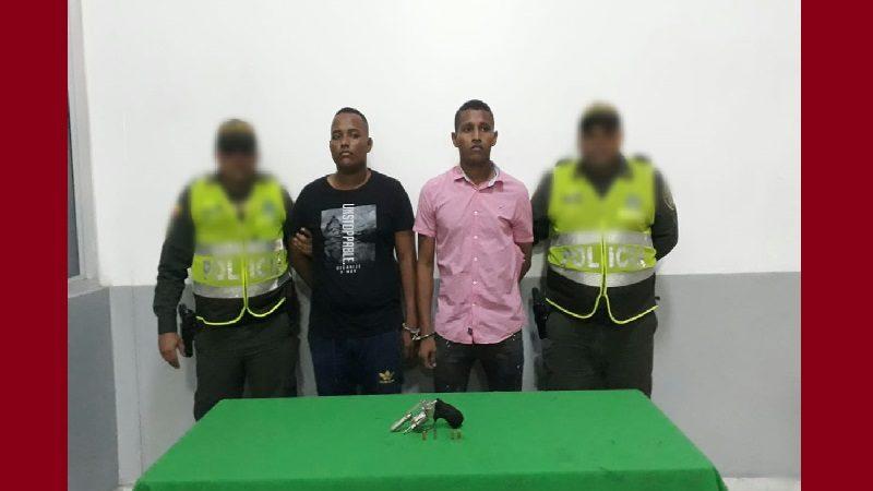 Policía captura a cinco atracadores en varios barrios del municipio de Soledad