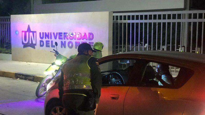 Policía se tomó el corredor universitario para combatir los atracos en la zona