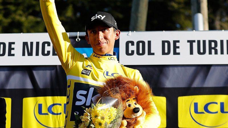 ¡Colombiano Egan Bernal, campeón de la París-Niza 2019!