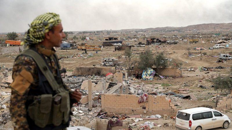 A pesar del fin del califato del Estado Islámico, continúan bombardeos