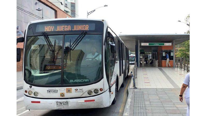 Al Metro en Transmetro 4 buses adicionales para el partido Junior vs. Unión Magdalena, este miércoles 27 de marzo