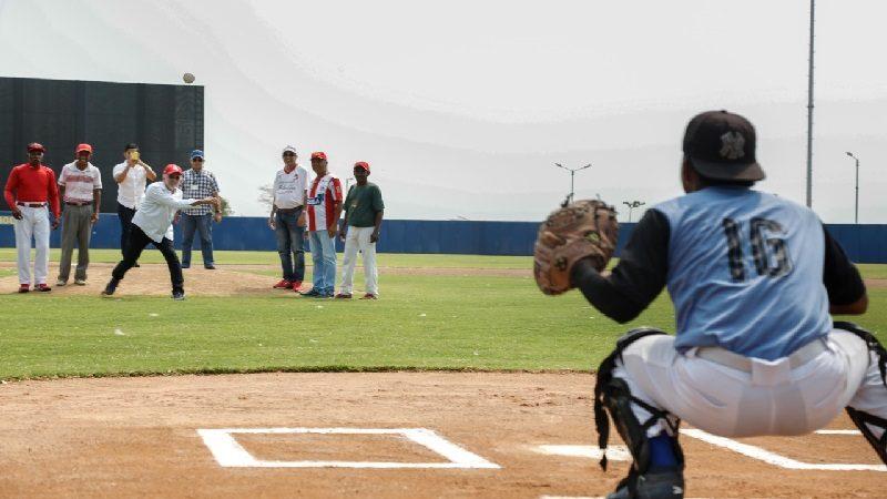 Arrancó el campeonato de béisbol juvenil Copa Atlántico Líder