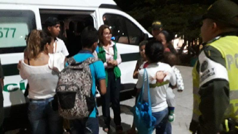 Autoridades realizan operativos contra la mendicidad infantil en Barranquilla