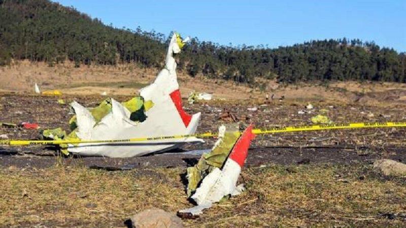 Avión con 157 personas de diferentes países se estrelló en Etiopía