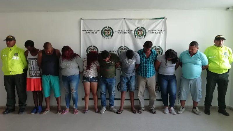 Cae banda 'Los Patrones', que comercializaba droga en Sabanalarga y Palmar de Varela