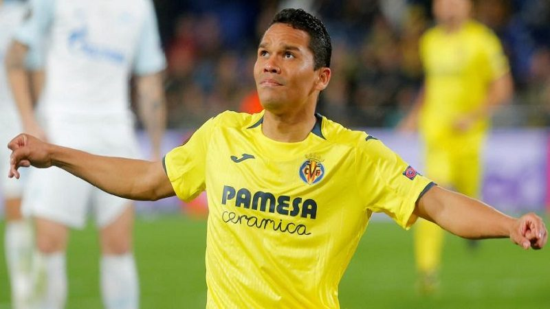 Carlos Bacca marcó gol en la victoria del Villarreal contra el Zenit