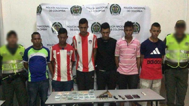 Cayó banda 'Los Chambacú', que robaba en el transporte público en Barranquilla