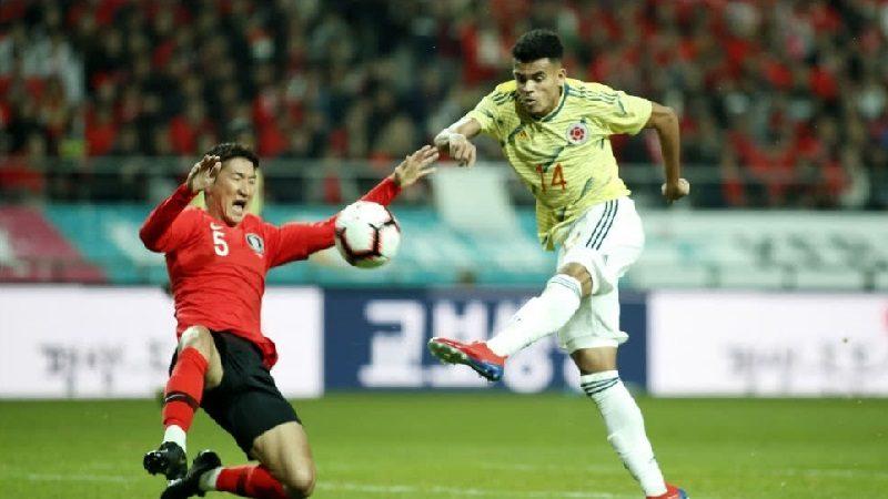 Colombia cayó 1-2 ante Corea