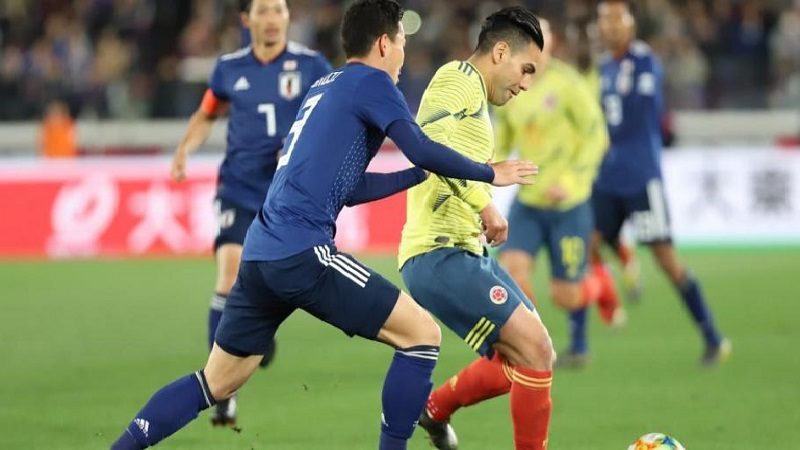 Colombia venció 0-1 a Japón