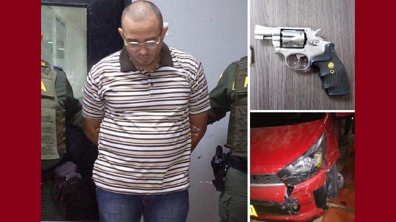 Con 8 antecedentes judiciales, acaba de salir de la cárcel y se robó un carro en el norte de Barranquilla