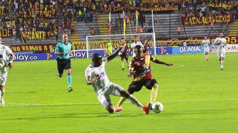 Con un jugador menos, Unión Magdalena perdió 0-1 ante Tolima