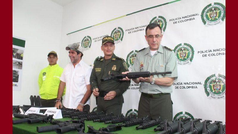 En lo que va de 2019 Policía ha incautado 422 armas de fuego en las calles de Barranquilla