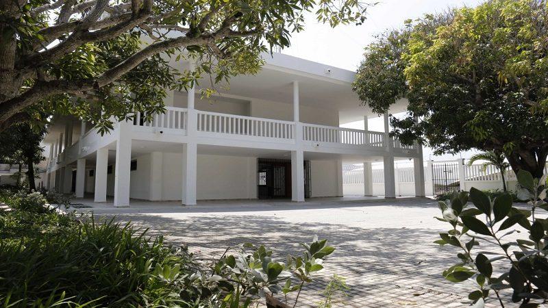 Gobernación entrega restaurada Casa de Cultura y Convivencia de Puerto Colombia