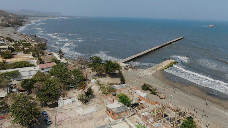 Gobernación verifica avances en obras de integración del muelle y plaza de Puerto Colombia