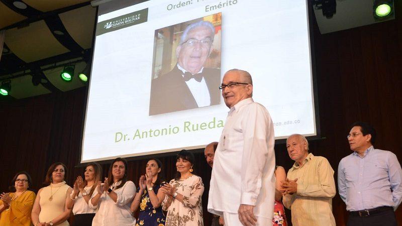 Homenajes a profesores de la Universidad Simón Bolívar en el natalicio del rector fundador