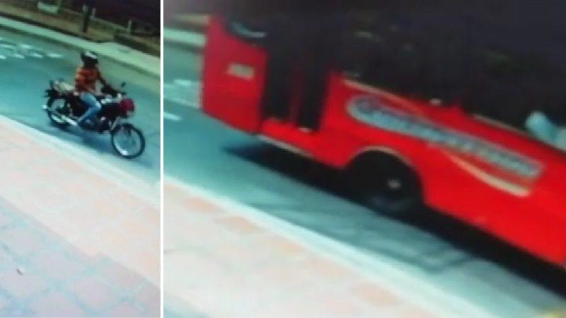 Imágenes clave del atraco al bus donde murió la niña Salomé