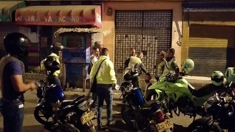 Incautan armas de fuego e inmovilizan 9 motos durante operativos de la Policía en Barranquilla