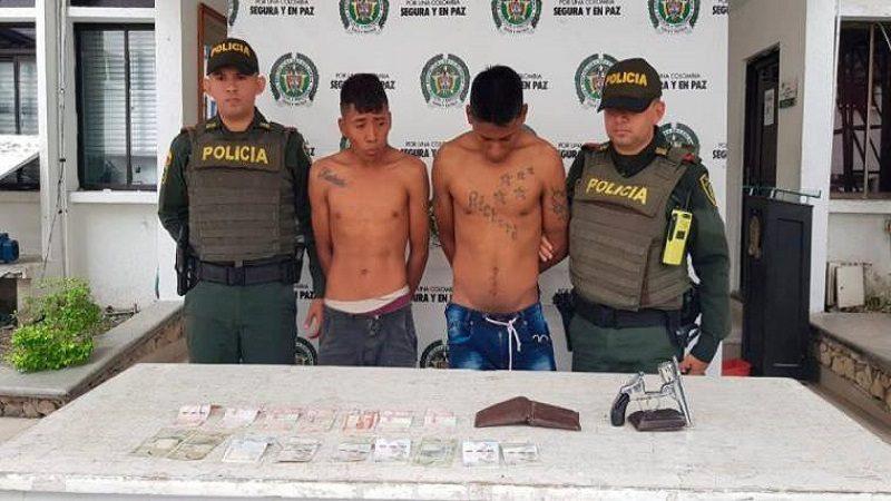 Los capturan cuando atracaban a conductores tras cerrar vía en Morroa, Sucre