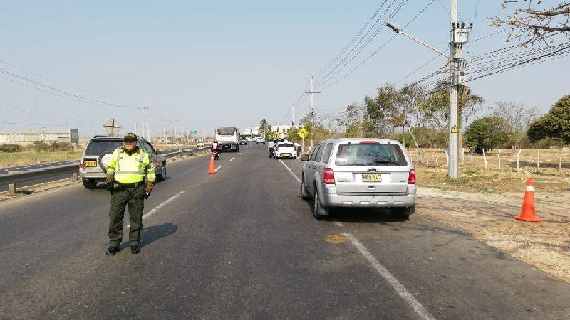 Más de 54 mil vehículos entraron y salieron de Barranquilla durante el puente festivo