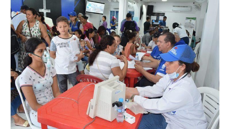 Más de 900 personas atendidas en 'Salutón' de Villa Soledad y Las Gaviotas