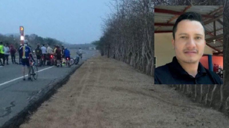 Muere motociclista tras arrollar a dos ciclistas en la vía al Mar