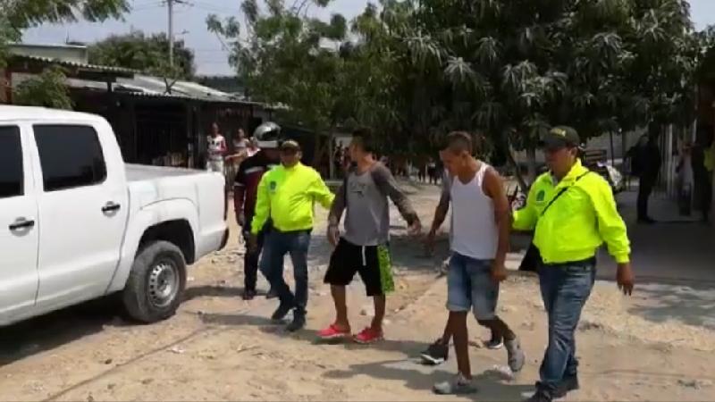 Operación 'Cazador' en Soledad deja 14 capturados, armas de fuego y droga incautada