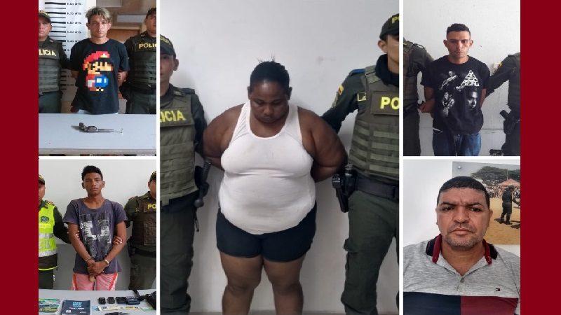 Policía captura a 58 personas en Barranquilla, durante el puente festivo de San José