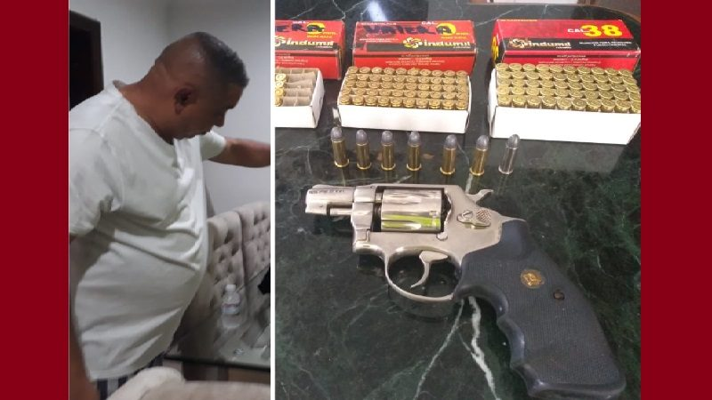Policía incauta revólver a hombre que amenazó a funcionarios de Electricaribe