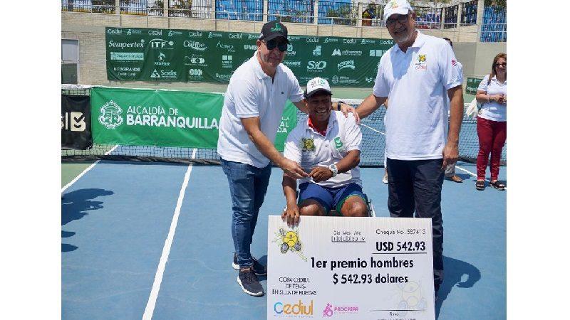 Team Barranquilla aporta triunfos en tenis en silla de ruedas, BMX y karate